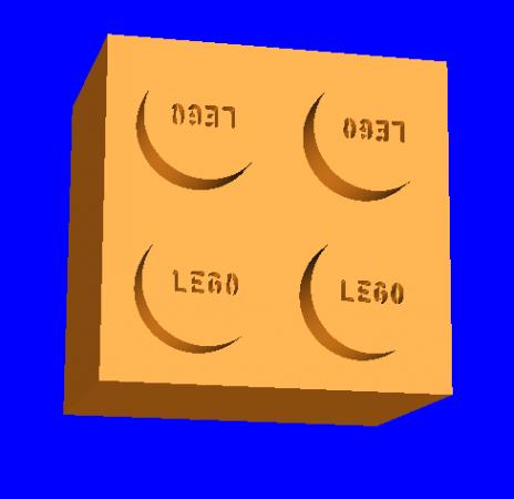 Lego 4 3