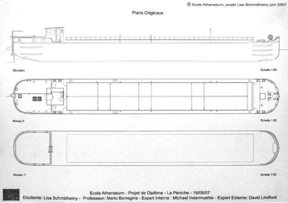 Plan peniche ecole archi