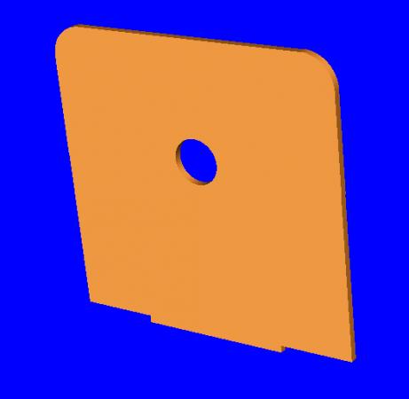 Platine treuil